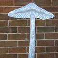 Toadstool Wall Panels - Galvanised Steel