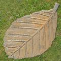 Beech Leaf Stepping Stone - Cast Iron