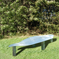 Long Leaf Seat - Galvanised Steel