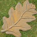 Oak Leaf Stepping Stone