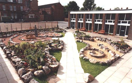 Maze Garden Design