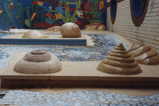 Undersea Courtyard Sculptures