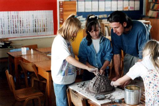 Pallysaurus Sculpture Workshops