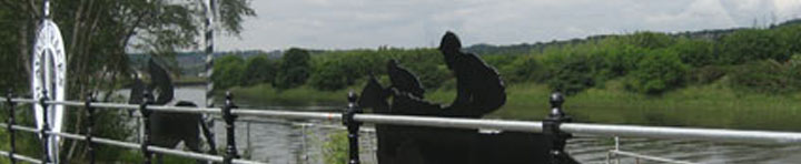 Blaydon Races Sculpture